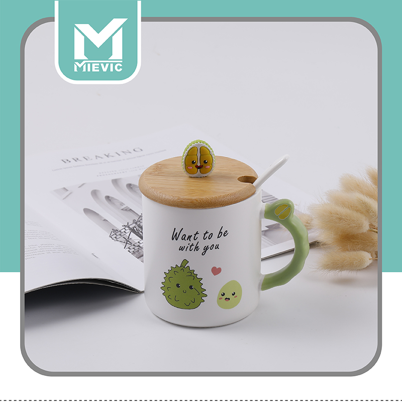 HY Creative Durian ceramic Cup A 1021 916510 MIEVIC/米薇可