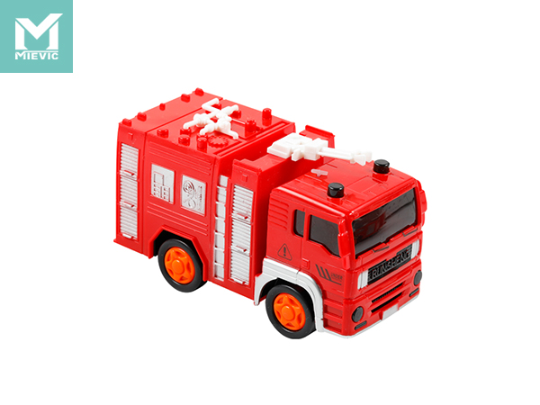 Camión de bomberos RS Electric Universal City Three Mixed-RS5670-1-2 926281 MIEVIC/米薇可